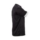 Victor T-Shirt black mélange 6529 férfi póló