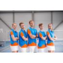 Polo Victor Function Unisex Orange 6128 férfi póló