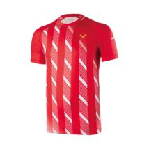Victor Shirt Denmark Unisex red 6599 férfi póló