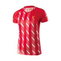 Victor Shirt Denmark Female red 6609 női póló