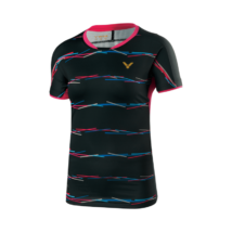 Victor Shirt Games Female black 6669 női póló