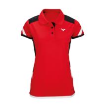 Victor Polo Function Female red 6717 női póló
