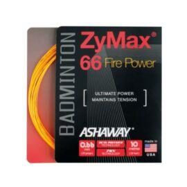 Ashaway Zymax 66 Fire Power Orange Badminton String (10m Set)