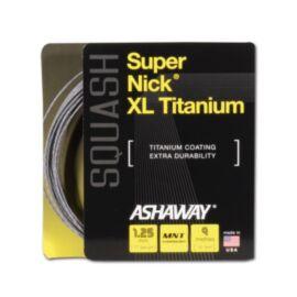 Ashaway Supernick XL Titanium Squash String (9m Set)