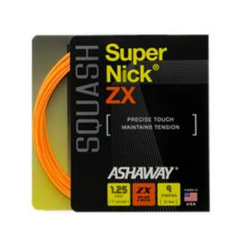 Ashaway SuperNick ZX Squash String (9m Set)