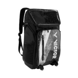Victor BR9008 Badminton Racket Backpack (Black-Silver)