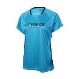 FZ Forza Blingley Womens Badminton T-Shirt (Blue)
