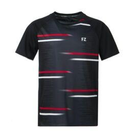 FZ Forza Moldavia Jr. gyerek tollaslabda, squash póló (fekete)