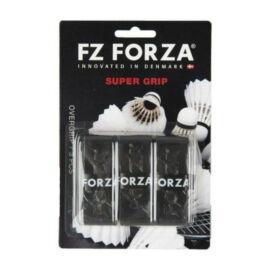 FZ Forza Super tollaslabda, squash fedőgrip csomag - 3 darab (fekete)