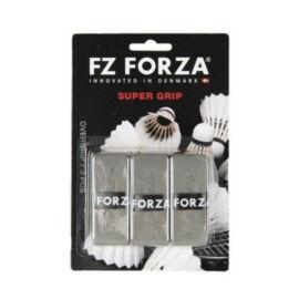 FZ Forza Super tollaslabda, squash fedőgrip csomag - 3 darab (szürke)