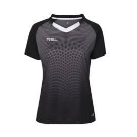 RSL Brooklyn W női tollaslabda, squash póló (szürke)