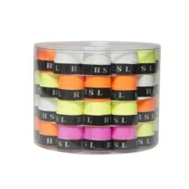 RSL tollaslabda, squash fedőgrip doboz - 60 db (neon)