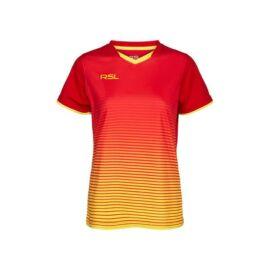 RSL Yendi W női tollaslabda, squash póló (piros)