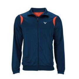 Victor TA Team 3928 Unisex Badminton Jacket (Coral-Navy blue)