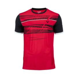 Victor Function 6069 Mens Badminton T-Shirt (Red)