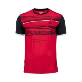 Victor Function 6069 férfi tollaslabda, squash póló (piros)