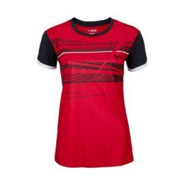 Victor Function 6079 női tollaslabda, squash póló (piros)