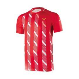 Victor 6599 férfi tollaslabda, squash póló (piros)