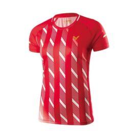 Victor 6609 női tollaslabda, squash póló (piros)