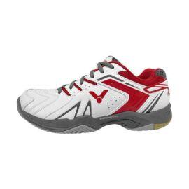 Victor A610 II gyerek tollaslabda cipő, squash cipő (fehér-piros)
