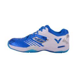 Victor A730 gyerek tollaslabda cipő, squash cipő (kék-fehér)
