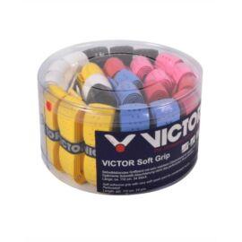 Victor Soft tollaslabda, squash alapgrip doboz - 24 darab (színes)