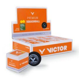 Victor squash labda doboz - 12 darab (két sárga pöttyös)