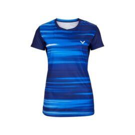 Victor T-04100 B női tollaslabda, squash póló (sötétkék)