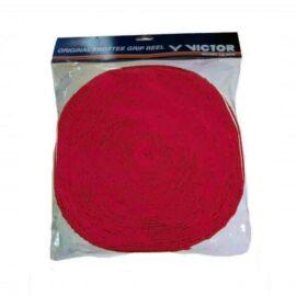 Victor Badminton Towel Grip Coil - 12 m (Red)