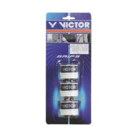 Victor 7197 tollaslabda, squash fedőgrip csomag - 3 darab (fehér)