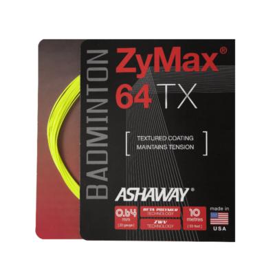 Ashaway Zymax 64 TX neonsárga tollaslabda húr