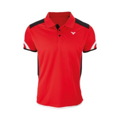 Victor Polo Function Unisex red 6727 férfi póló