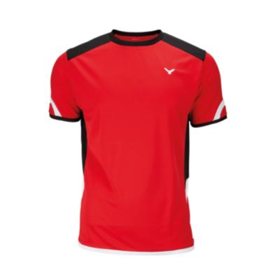 Victor T-Shirt Function Unisex red 6737 férfi póló