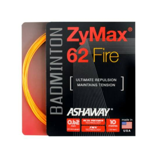 Ashaway Zymax 62 Fire tollaslabda húr (narancssárga)