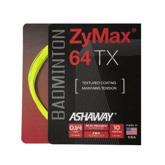 Ashaway Zymax 64 TX tollaslabda húr (neonsárga)