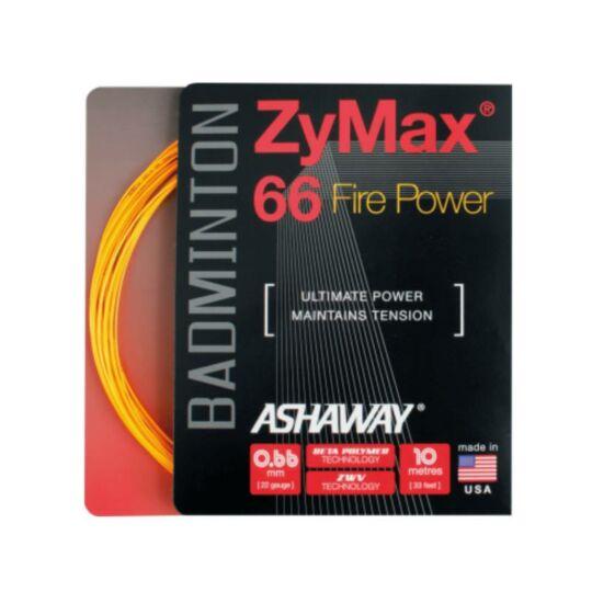 Ashaway Zymax 66 Fire Power tollaslabda húr (narancssárga)