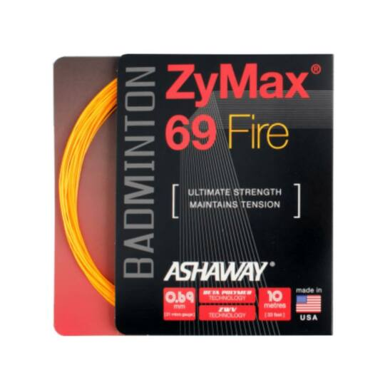 Ashaway Zymax 69 Fire tollaslabda húr (narancssárga)