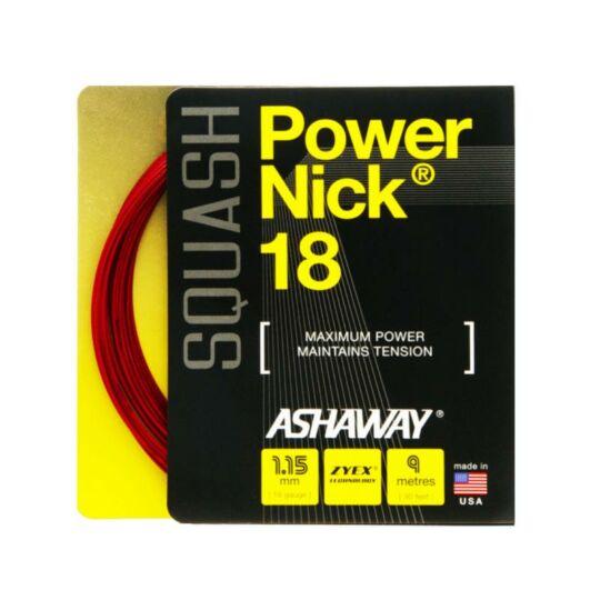 Ashaway PowerNick 18 squash húr (vörös)