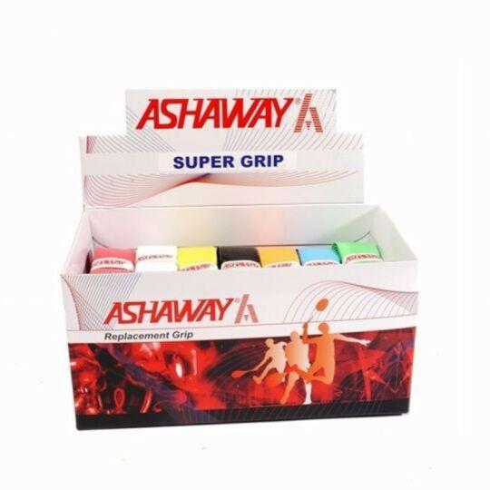 Ashaway Super tollaslabda, squash alapgrip doboz - 24 darab (színes)