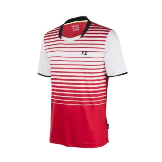 FZ Forza Rio Bianco férfi tollaslabda, squash póló (piros)