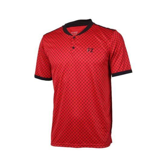 FZ Forza Bronx Jr. gyerek tollaslabda, squash póló (piros)