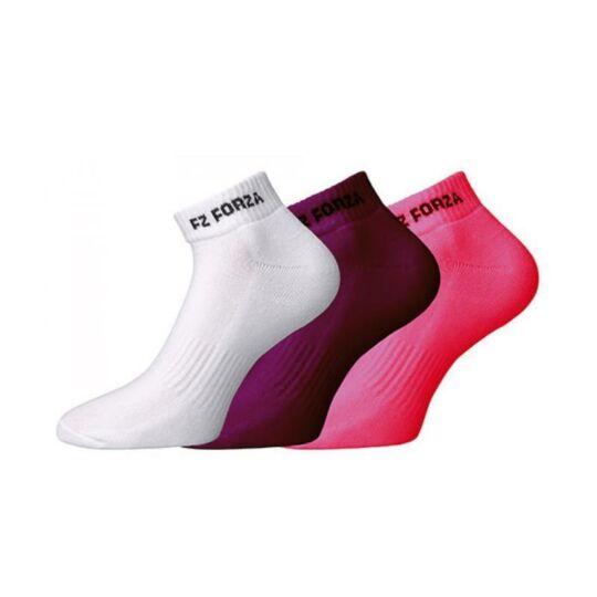 FZ Forza Comfort short tollaslabda, squash sportzokni (színes)