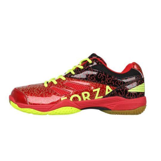 FZ Forza Court Flyer gyerek tollaslabda cipő, squash cipő (fekete-piros)