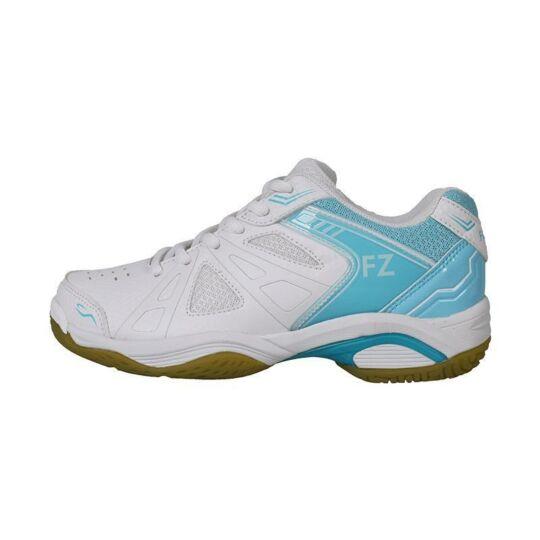 FZ Forza Extremely W női tollaslabda cipő, squash cipő (fehér-világoskék)
