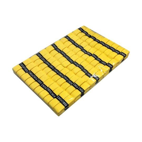 FZ Forza A tollaslabda, squash fedőgrip - 100 darab (sárga)