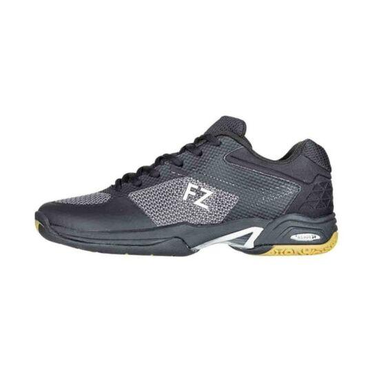 FZ Forza Fierce V2 gyerek tollaslabda cipő, squash cipő (fekete)