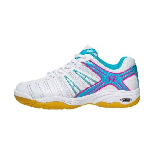 FZ Forza Leander W női tollaslabda cipő, squash cipő (fehér-világoskék)