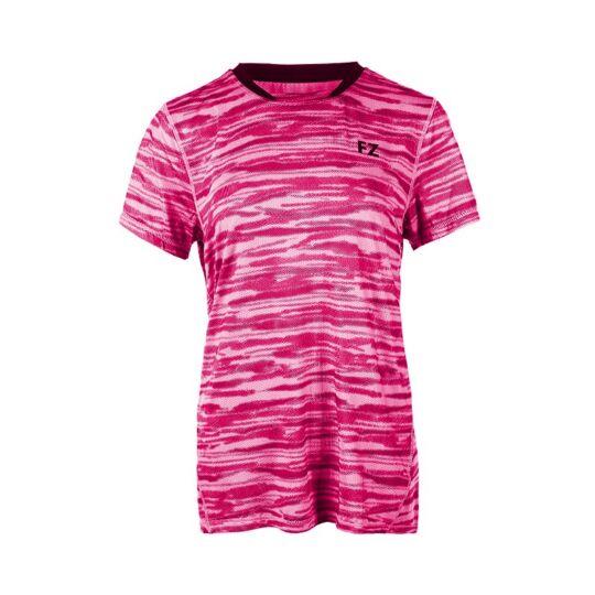FZ Forza Malay női tollaslabda, squash póló (rózsaszín)