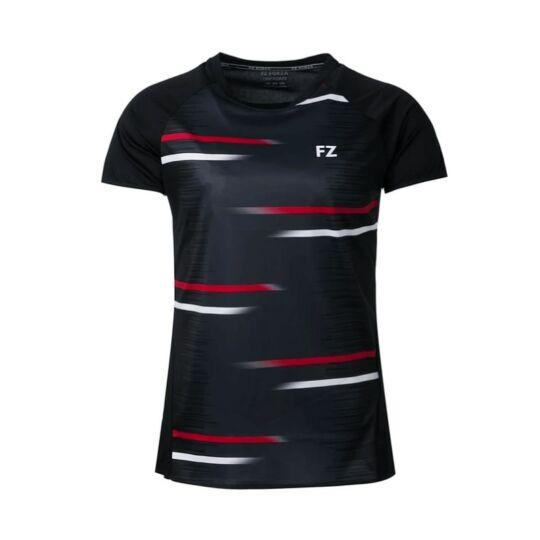 FZ Forza Mobile női tollaslabda, squash póló (fekete)