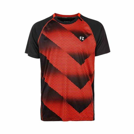 FZ Forza Monthy Jr. gyerek tollaslabda, squash póló (piros)
